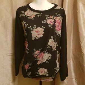 ALYX Floral Print Sweatshirt